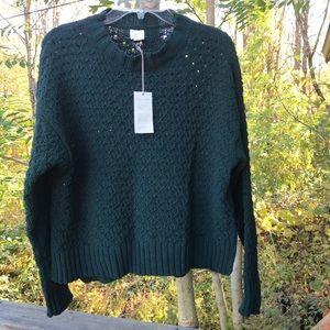 NWT Green Sweater